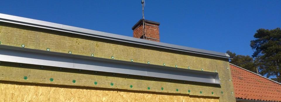 Plåtarbete tak plåttak plåtslagare plåtslageri rockneby kalmar